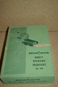 Welch Allyn Direct Focusing Headlight No 460