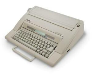 Royal 6914t Scriptor Ii Portable Electronic Typewriter