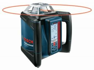 Bosch Grl 500 hck Self leveling Rotary Laser Complete Kit