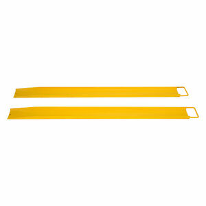 84x 5 5 Forklift Pallet Fork Extensions Pair High Tensile Strength Retaining
