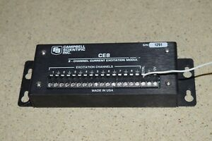 Campbell Scientific Inc Ce8 8 channel Current Excitation Module cs42