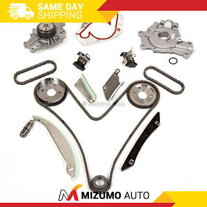 Timing Chain Kit Water Pump Oil Pump Fit 07 08 Chrysler 300 Dodge Charger 2 7