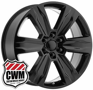 Oe Replica 172gb 22 Inch Ford F150 Platinum Black Wheels Rims Fit Expedition