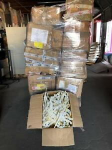 Plastic Hangers Used Clothing Store Pallet Lot 3 000 Commercial Retail Fixtures