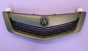 Acura Tsx 09 10 Replacement Grill Grille All Black W Moulding W Black Emblem