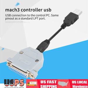 Uc100 Cnc Usb Motion Controller For Mach3 Controller Usb To Paralle