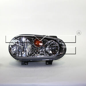 Tyc 20 6473 70 Right Headlight Assembly For 2002 2005 Volkswagen Golf Vw2503123