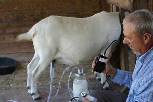 Dansha farms the frontier 034 goat sheep cow milk machine rechargeable1 2gallo