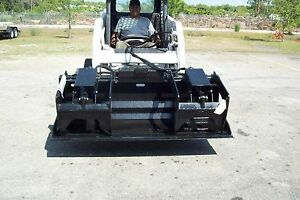 Skid Steer Grapple Bucket 72 hd Design protected Cylinders made In Usa site Pro
