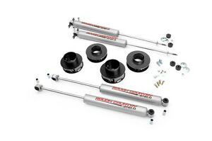 Rough Country 2 Suspension Lift Kit Jeep Wj Grand Cherokee 99 04 4wd W Shocks