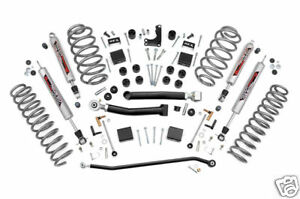 Rough Country 4 Wj Jeep Grand Cherokee Suspension Lift Kit 99 04
