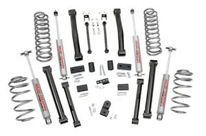 Rough Country 4 Zj Jeep Grand Cherokee Suspension Lift Kit 93 98 4 0l 5 2l