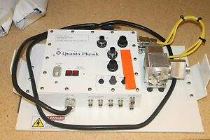 Quanta Physik 837cl High Resolution Fiber Optic Atomic Emission Spectrometer