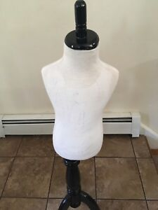 Kids Mannequin 5 6 Yrs Child Dress Dress Form With Wooden Tripod Base