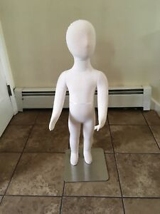 Toddler Kid Children Mannequin Used In Good Shape