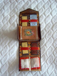 Antique Sewing Box Grand Duchess Collapsible Needle Case C1880 S Reg No 5472