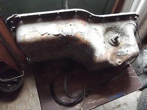 84 86 Thuinderbired Turbo Coupe 2 3l Oil Pan With Low Oil Sensor Decent Shape