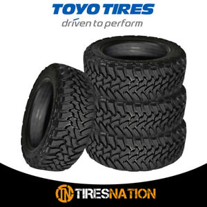 4 Toyo Open Country Mt Lt295 70r18 119 126p 10p E Load All Terrain Mud Tires