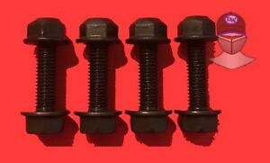 Jeep Wrangler Tj Front Lower Shock Bolts And Lock Nuts 97 06