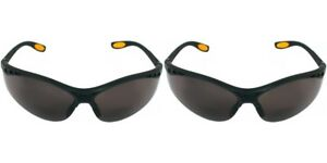 2 Dewalt Reinforcer Bifocal 1 5 Safety Glasses Smoke Lens