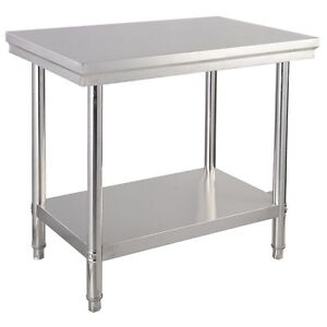 Stainless Steel Commercial Home Kitchen Food Prep Table Desk 36 X 24 X 35 Us