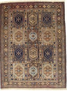 Authentic Handmade Antique Tribal Yalameh Persian Rug Oriental Carpet 4 8x6 6