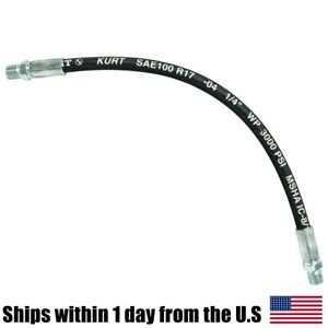 Snow Plow Upper Lower Lift Cylinder Hose Fits Boss Plows Hyd01695 1 4 X 15 1 2