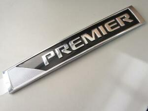 Oem 2016 2018 Gm Chevy Malibu Cruze Premier Sign Emblem Decal Nameplate 23505738