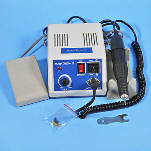 Dental Lab Marathon Micromotor Polishing Motor N3 35k Rpm Handpiece From Us Sc