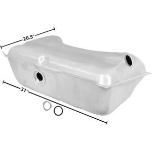 68 69 Barracuda Dart Valiant Fuel Gas Tank Galvanized 18 Gallon Wo vent Pipe Dii