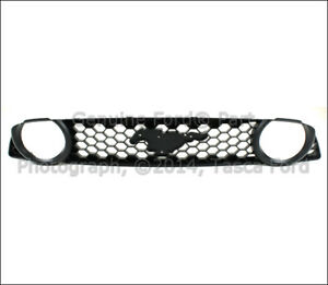 Brand New Oem Black Radiator Grille 2013 2014 Ford Mustang Gt Dr3z 8200 Bc