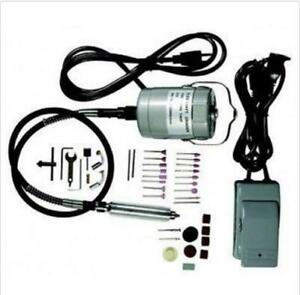 Electric 15000rpm High Speed Flex Flexible Shaft Rotary Wood Carver Carving Kit