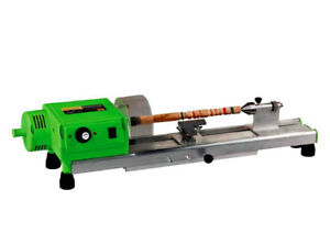 220v Precise Mini Wood Lathe Machine Diy Woodworking Lathe Drill For Cup plate