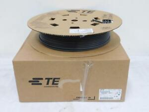 Case Of 2 Te Connectivity 5053094268 Rnf 100 1 4 bk sp 150 nd Heat Shrink Tubing