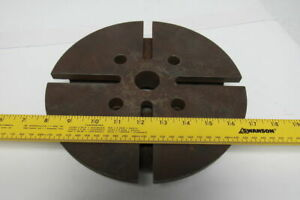 10 T slot Lathe Faceplate 4 Bolt Mounting