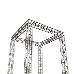Global Truss Sq 10x10 Venue Square Display tradeshow dj Booth