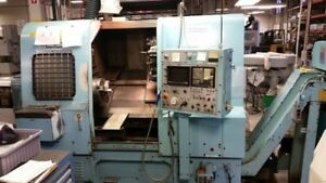 Mori Seiki Sl 4c Cnc Turning Center