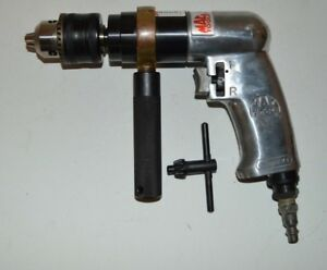 Mac Tools Ad590 1 2 Pneumatic Reversible Air Drill Used Tested