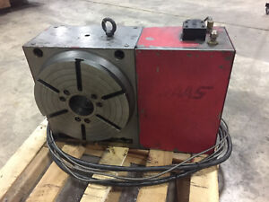 Haas Hrt 310 Brush 17 pin 4th Axis Rotary Table