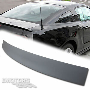 Unpainted Ford Mustang 5th 2d Coupe Rear Window Roof Spoiler Abs 2013