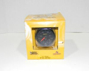 Autometer 8163 05702 Nascar Elite Can Fuel Pressure Gauge New