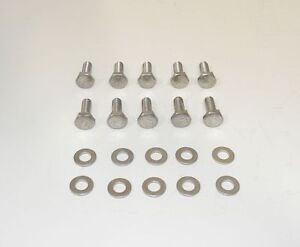Sb Dodge Mopar Hex Head 3 4 Stainless Steel Bolts For Steel Valve Covers New