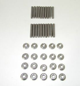 Sb Dodge Mopar Magnum Stainless Steel Studs For Cast Valve Covers New