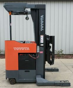 Toyota Model 6bru23 2000 4500 Lbs Capacity Great Reach Electric Forklift