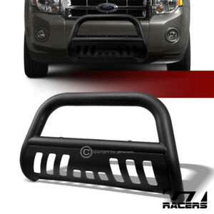 For 2008 2012 Escape tribute mariner Matte Black Bull Bar Bumper Grille Guard