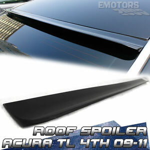 2013 Unpainted Acura Tsx Cu2 Window Roof Spoiler Wing Saloon