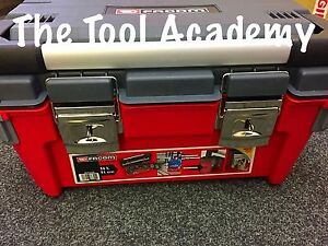 Facom Tools France Large Professional Sturdy Toolbox Tool Box Bright Red