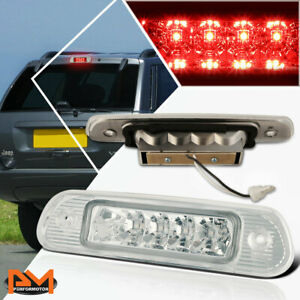 For 99 04 Jeep Grand Cherokee Led Third 3rd Tail Brake Light Stop Lamp Chrome