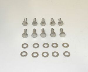 Sb Dodge Mopar Hex Head Stainless Steel Bolts For Cast Valve Covers New