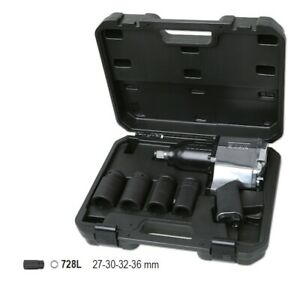Beta Tools 1928k4 3 4 Drive Reversible Air Impact Wrench 4x Deep Socket Set